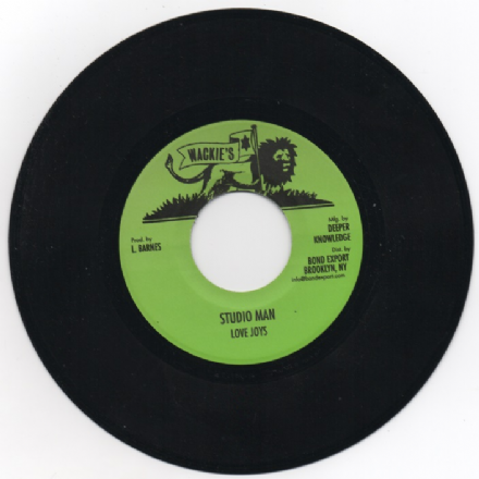 Love Joys - Studio Man / Dub (Wackies / DKR) US 7""